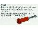 Set No: 5103  Name: Pneumatic Spring Cylinder, 48mm, Red