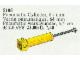 Set No: 5105  Name: Pneumatic Cylinder, 64mm, Yellow