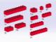 Set No: 5140  Name: Bricks, Red