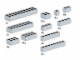 Set No: 5145  Name: Bricks, Gray