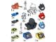 Set No: 5160  Name: Aquazone Accessories