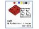 Set No: 520  Name: 2 x 2 Plates (cardboard box version)