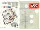 Set No: 520  Name: 2 x 2 Plates (architectural hobby und modelbau version)