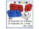 Set No: 521  Name: 1 x 1 and 1 x 2 Plates (cardboard box version)