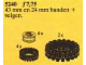 Set No: 5240  Name: Wheel Hubs and Tyres