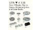 Set No: 5276  Name: Gear Wheels, Worm Gears, Racks, Universal Joints
