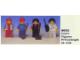 Set No: 6002  Name: Town Figures
