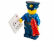 Set No: 60063  Name: Advent Calendar 2014, City (Day 11) Policeman with Loudhailer / Megaphone and Sheet Music