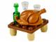 Set No: 60063  Name: Advent Calendar 2014, City (Day 19) Turkey Dinner