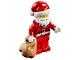 Set No: 60201  Name: Advent Calendar 2018, City (Day 24) - Santa with Gift Bag