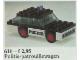 Set No: 611  Name: Police Car