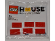 Set No: 624210  Name: LEGO House - 6 Bricks polybag