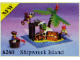 Set No: 6260  Name: Shipwreck Island