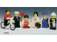 Set No: 6301  Name: Town Mini-Figures