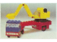 Set No: 649  Name: Low-Loader with Excavator