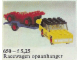 Set No: 650  Name: Car with Trailer and Racing Car