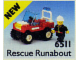 Set No: 6511  Name: Rescue Runabout