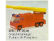 Set No: 658  Name: Fire Engine
