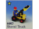 Set No: 6603  Name: Shovel Truck