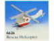 Set No: 6626  Name: Rescue Helicopter