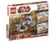 Set No: 66341  Name: Star Wars Super Pack 3 in 1 (8014, 8015, 8091)