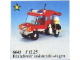Set No: 6643  Name: Fire Truck