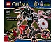 Set No: 66500  Name: Legends of Chima Super Pack 2 in 1 - Chi Hyper Cragger (70203, 70204)