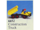 Set No: 6652  Name: Construction Truck