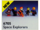 Set No: 6705  Name: Space Explorers
