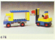 Set No: 674  Name: Forklift & Truck