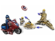 Set No: 6865  Name: Captain America's Avenging Cycle