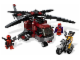 Set No: 6866  Name: Wolverine's Chopper Showdown