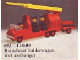 Set No: 693  Name: Fire Engine with Firemen