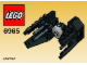 Set No: 6965  Name: TIE Interceptor - Mini polybag