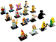 Set No: 71018  Name: Minifigure, Series 17 (Complete Series of 16 Complete Minifigure Sets)