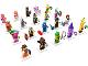 Set No: 71023  Name: Minifigure, The LEGO Movie 2 (Complete Series of 20 Complete Minifigure Sets)