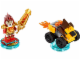 Set No: 71222  Name: Fun Pack - Legends of Chima Laval and Mighty Lion Rider