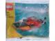Set No: 7218  Name: Orange Speedboat polybag