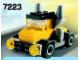 Set No: 7223  Name: Yellow Truck polybag
