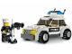 Set No: 7236  Name: Police Car - Black/Green Sticker Version