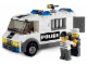 Set No: 7245  Name: Prisoner Transport - Black/Green Sticker Version