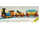 Set No: 726  Name: 12V Western Train with 2 Wagons and Cowboys