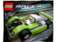 Set No: 7452  Name: Lime / Black Racer polybag