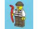 Set No: 7553  Name: Advent Calendar 2011, City (Day 18) Robber with Crowbar