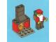 Set No: 7553  Name: Advent Calendar 2011, City (Day 24) Santa and Fireplace