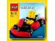 Set No: 7601  Name: Go-Kart