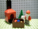 Set No: 7904  Name: Advent Calendar 2006, City (Day 24) Santa, Tree, Gifts, & Fireplace