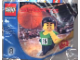 Set No: 7918  Name: McDonald's Sports Set Number 8 - Green Basketball Player #35 polybag