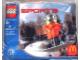 Set No: 7922  Name: McDonald's Sports Set Number 6 - Orange Vest Snowboarder polybag