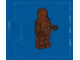Set No: 7958  Name: Advent Calendar 2011, Star Wars (Day  6) - Chewbacca